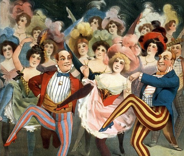 Image of vaudeville dancers.