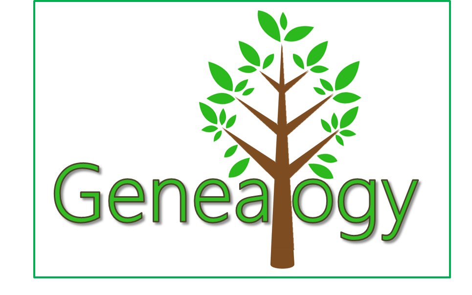 Genealogy with tree in full leaf as a symbol of a family tree.