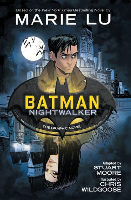 Cover of Batman: Nightwalker graphic novel.