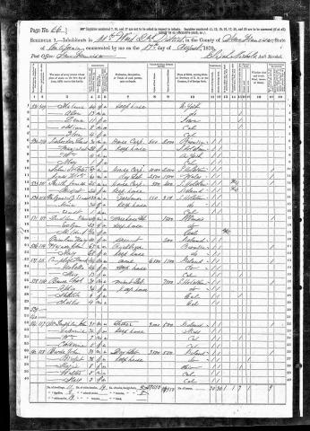 1870 Census image