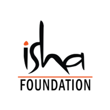 The logo for the Isha Foundation.