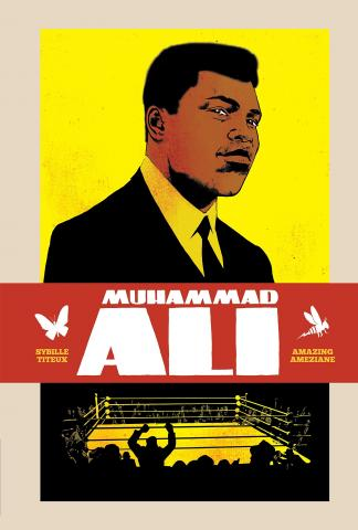 Book cover for Muhammad Ali by Sybille Titeux.