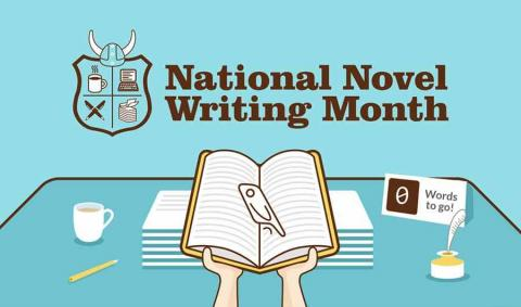Logo for NaNoWriMo